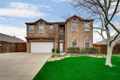 Wylie Single Family Home For Sale: 1412 Talladega Drive