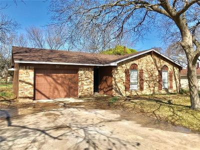 Duncanville Single Family Home Active Option Contract: 727 Lakeside Drive