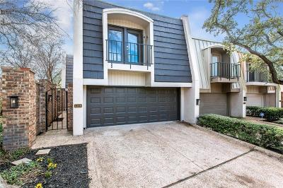 Dallas Townhouse For Sale: 4128 Tomberra Way