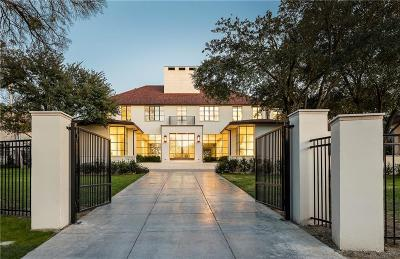 Dallas Single Family Home For Sale: 5020 Park Lane