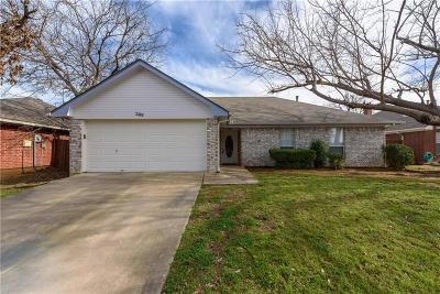 Denton Single Family Home Active Option Contract: 289 Casie Court