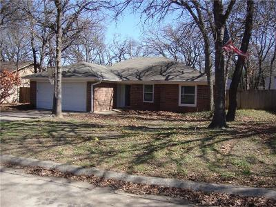 Azle Single Family Home Active Kick Out: 904 Red Oak Street