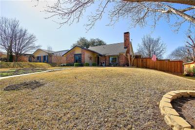 Plano Single Family Home Active Option Contract: 3217 Oak Vista Drive