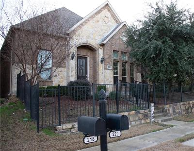 Lewisville Single Family Home For Sale: 220 Carrington Lane