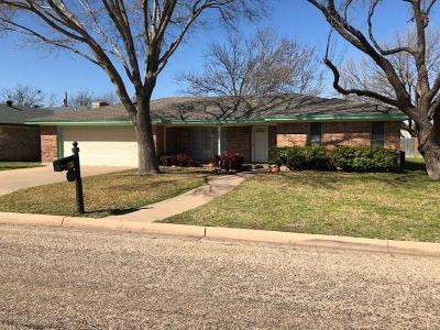 Abilene Single Family Home Active Option Contract: 1218 Chriswood Drive