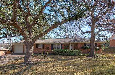 Fort Worth Single Family Home For Sale: 1805 Saxony Road