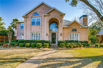 Coppell Single Family Home For Sale: 845 Crane Drive