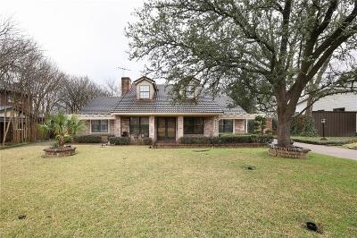 Single Family Home For Sale: 6850 Gaston Avenue