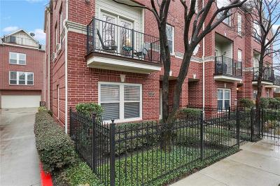 Dallas Townhouse For Sale: 3407 Howell Street