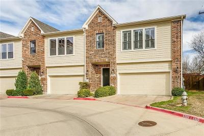 Fort Worth Townhouse For Sale: 6050 Portrush Drive