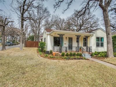 Fort Worth Single Family Home For Sale: 2301 Lotus Avenue
