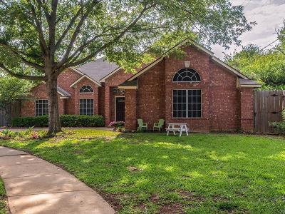 Grapevine Single Family Home Active Option Contract: 4500 Ainsworth Circle
