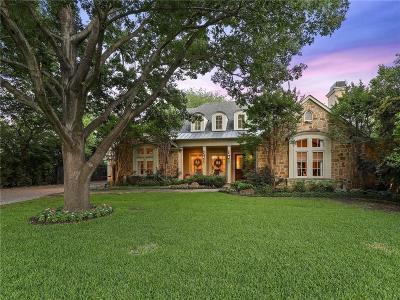 Dallas TX Single Family Home For Sale: $2,045,000