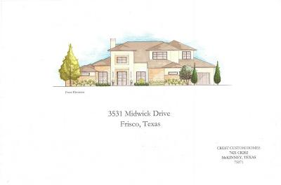 Single Family Home For Sale: 3531 Midwick Drive