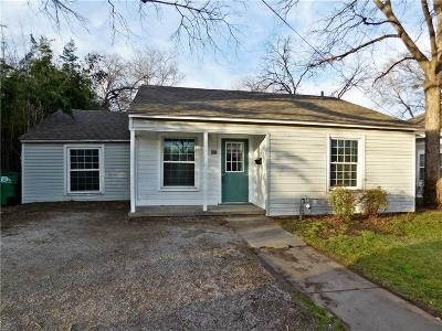 Denton Single Family Home For Sale: 506 W Sycamore Street