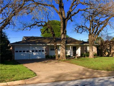 Hurst Residential Lease For Lease: 604 Tumbleweed Drive