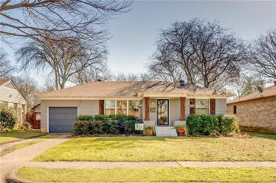 Dallas Single Family Home For Sale: 10332 Newcombe Drive