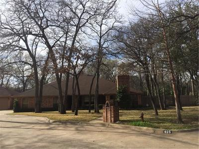 Denton Single Family Home For Sale: 401 San Sebastian Place