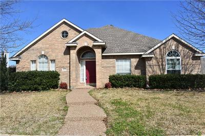 Allen Single Family Home For Sale: 1533 High Country Lane