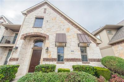 McKinney Townhouse For Sale: 5500 Conch Train Road