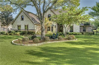 Flower Mound Single Family Home Active Option Contract: 3700 Falcon Drive