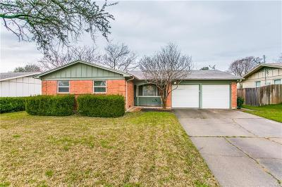 Dallas Single Family Home Active Option Contract: 12223 Sunland Street
