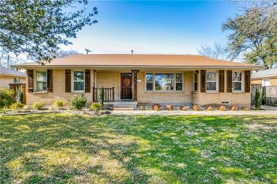 Dallas Single Family Home For Sale: 9919 Carnegie Drive