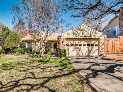 Grapevine Single Family Home Active Option Contract: 631 Heather Wood Drive