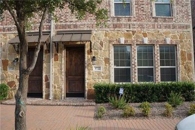 Collin County Townhouse For Sale: 5722 Kate Avenue