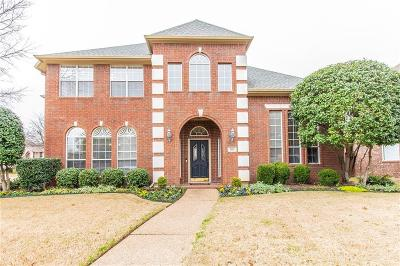 Coppell Single Family Home Active Option Contract: 261 Chestnut Court