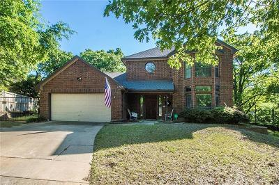 Grapevine Single Family Home Active Contingent: 1217 Sandhurst Court