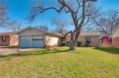 Mesquite Single Family Home Active Option Contract: 1444 E Park Drive