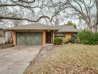 Dallas Single Family Home For Sale: 6817 Blessing Drive
