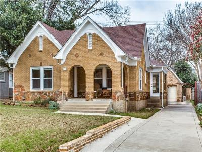 Dallas Single Family Home For Sale: 825 Thomasson Drive