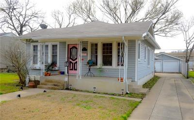 Fort Worth Single Family Home For Sale: 4825 Calmont Avenue