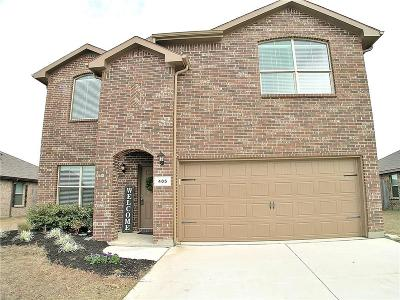 Ponder Single Family Home For Sale: 405 Keenland Way