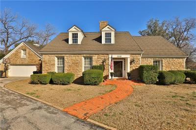 Abilene Single Family Home Active Option Contract: 1310 Willow Pond Road