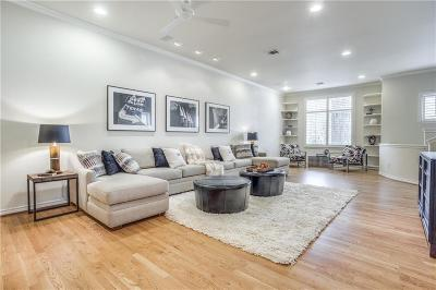 Dallas Townhouse For Sale: 3914 Travis Street