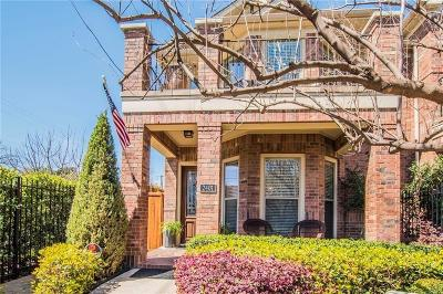 Dallas Townhouse For Sale: 2401 Knight Street
