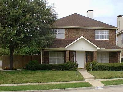 Coppell Residential Lease For Lease: 593 Lake Forest Drive