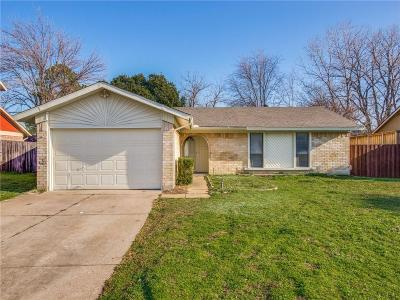 Lewisville Single Family Home Active Option Contract: 931 Kent Drive