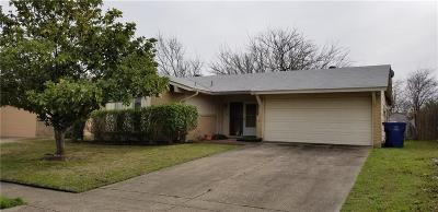 Garland Single Family Home For Sale: 1418 Wagon Wheel Road