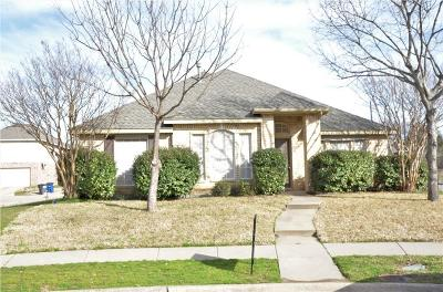 Allen Single Family Home For Sale: 1515 Clear Creek Drive