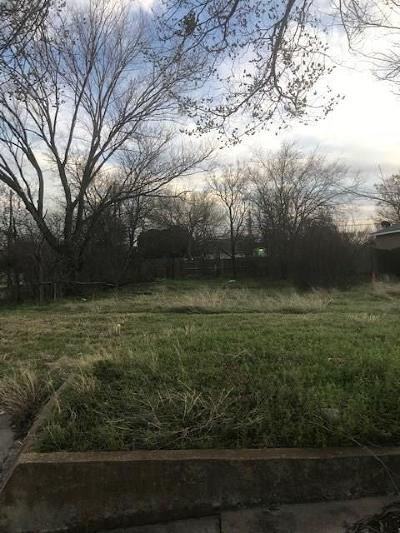 Fort Worth Residential Lots & Land For Sale: 1826 E Bessie Street