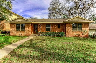 Dallas Single Family Home For Sale: 3082 Coombs Creek Drive