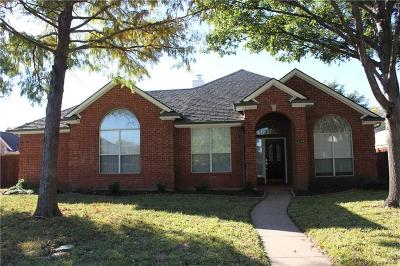 Allen Single Family Home For Sale: 1206 Spring Creek Drive