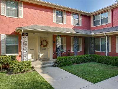 Dallas County Condo For Sale: 4810a Bradford Drive #A