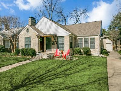 Dallas Single Family Home For Sale: 6019 Winton Street