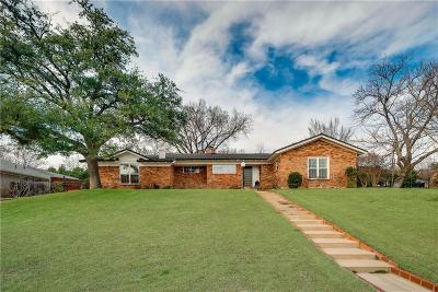 Fort Worth Single Family Home For Sale: 6800 Brants Lane