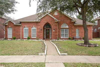 Plano Single Family Home Active Option Contract: 4632 Home Place